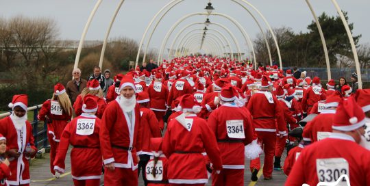 Queenscourt Hospice | Santa Sprint | 127 Media | Photography