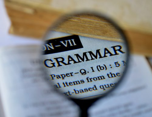 Do you struggle with grammar and spelling?