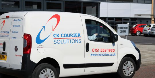 Commercial Photography | 127 Media | CK Courier Solutions Merseyside