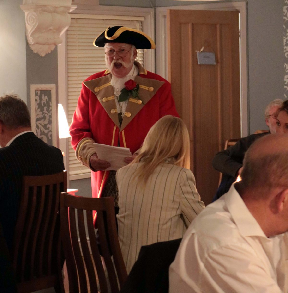 Town Crier Lancashire Day | 127 Media | Infusions Bistro Burscough